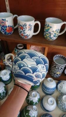 伊万里焼 10月15日㈪に川副智恵美展(泰仙窯)を開催します